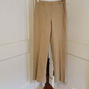 ANN TAYLOR  SHELL SEM-DRESS PANTS